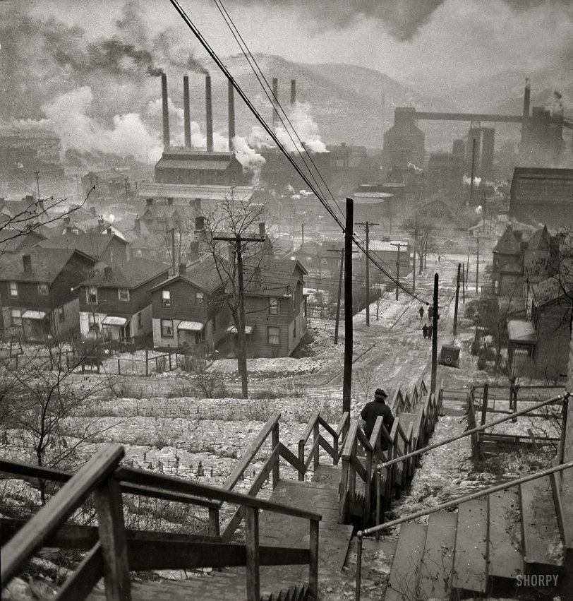 Pittsburgh 1940 Shorpy Old Photos