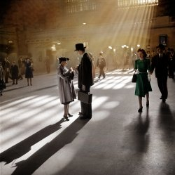 Grand Central (Colorized): 1941