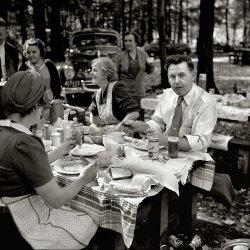 Berkshires Picnic: 1941