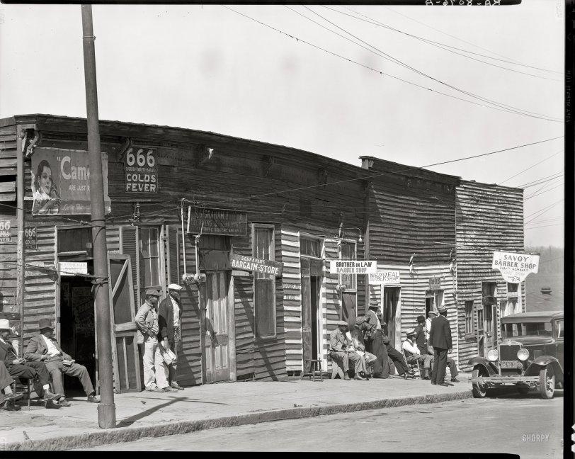 Barbershop Row: 1936