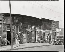 Barbershop Row: 1936