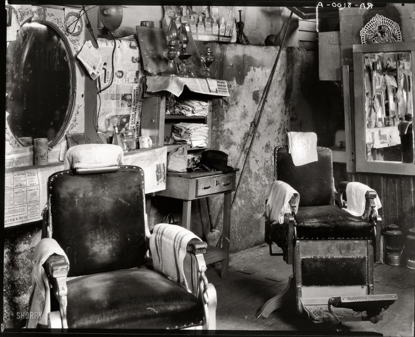 Barbershop Duet: 1936