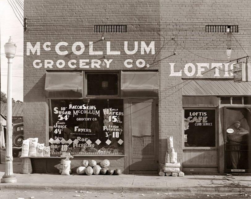 McCollum Grocery: 1936