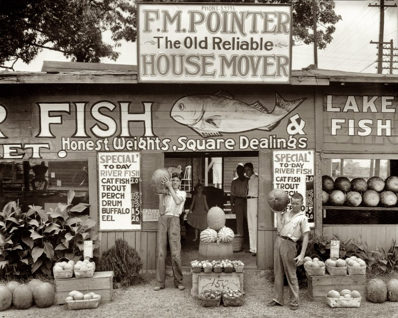 Catfish Mover Watermelon: 1936