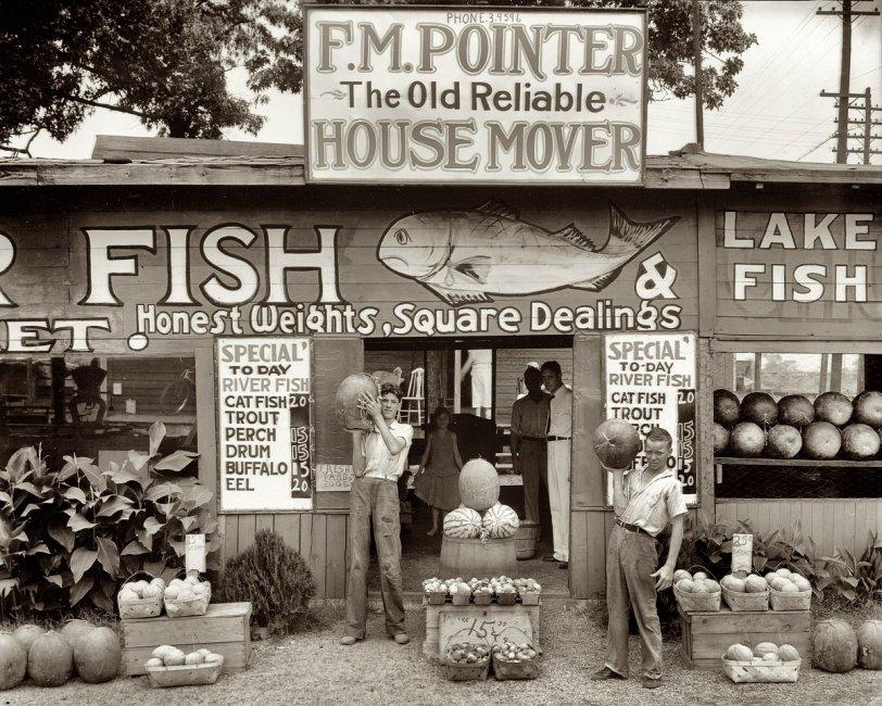 Catfish Mover Watermelon: 1936