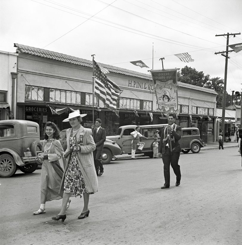Downtown Novato: 1942