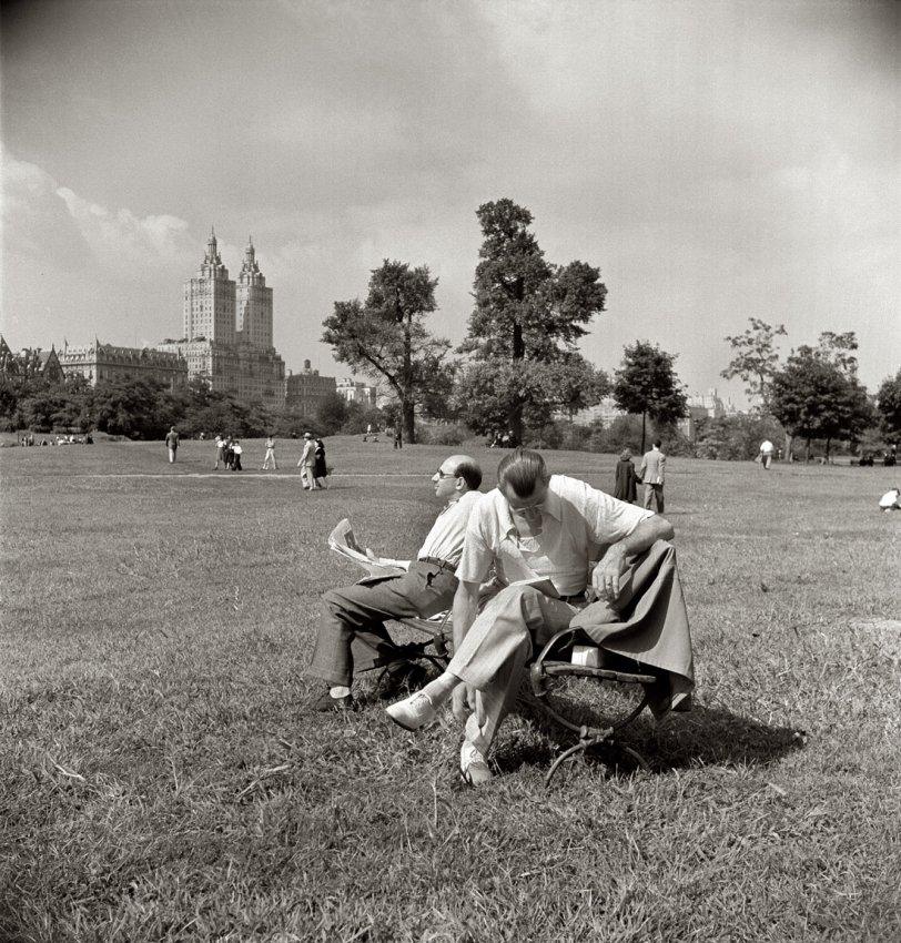 Sunday in the Park: 1942