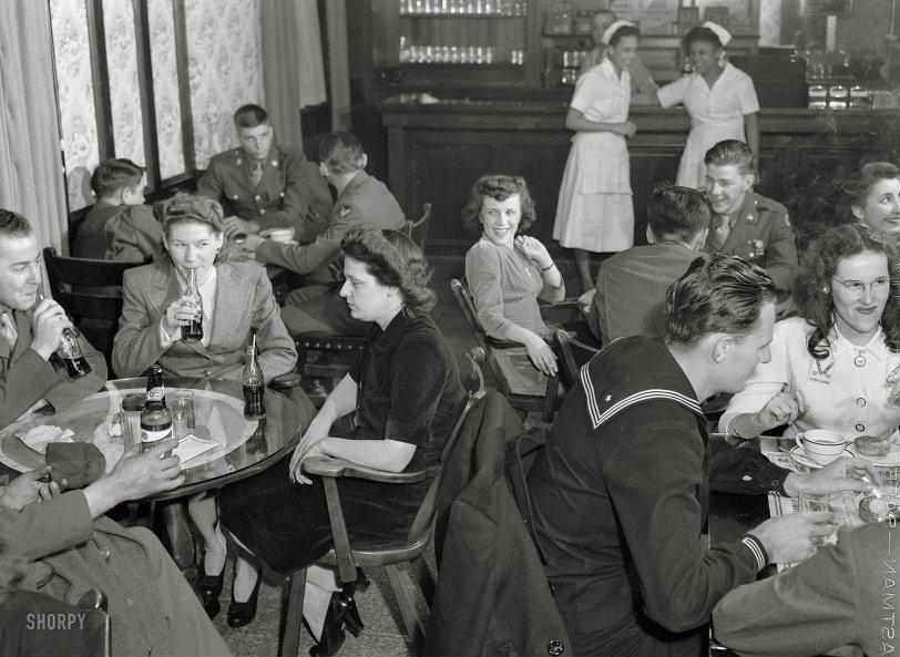 Canteen Scene: 1943