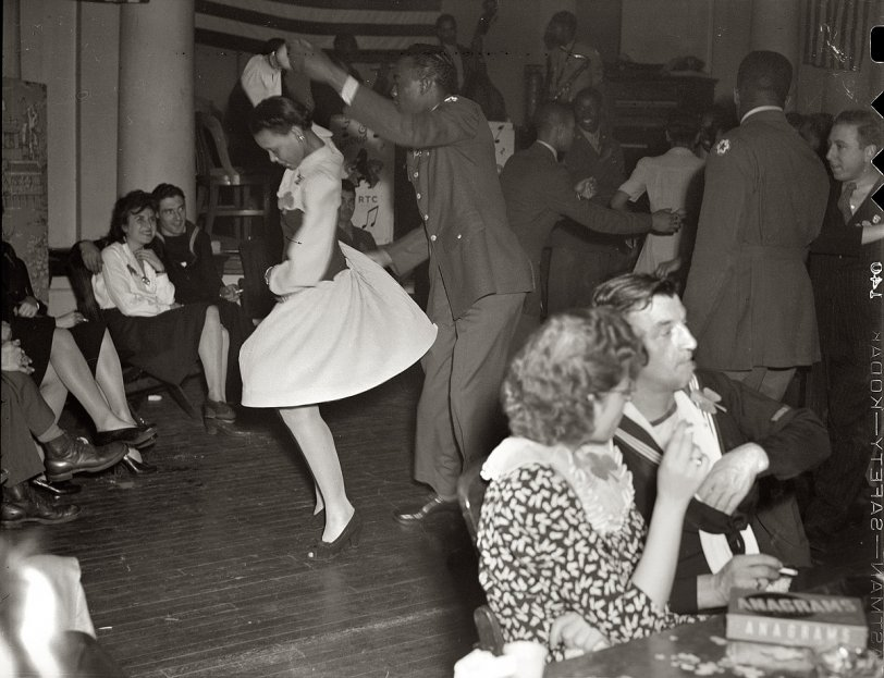 Cutting A Rug 1944 Shorpy Vintage Photography