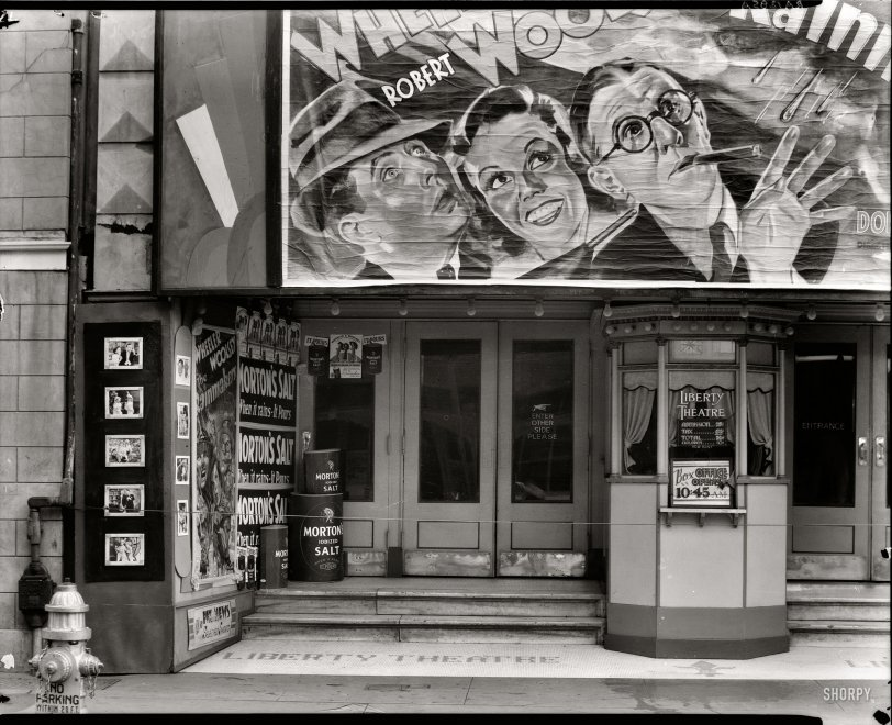 Liberty Theatre: 1935