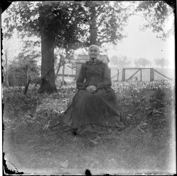 A Haunting Portrait, c. 1900
