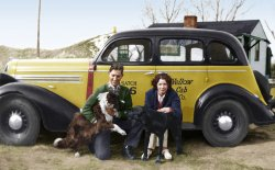 A Lab and a Cab: 1937