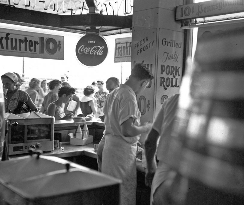 Atlantic City Lunch: 1953