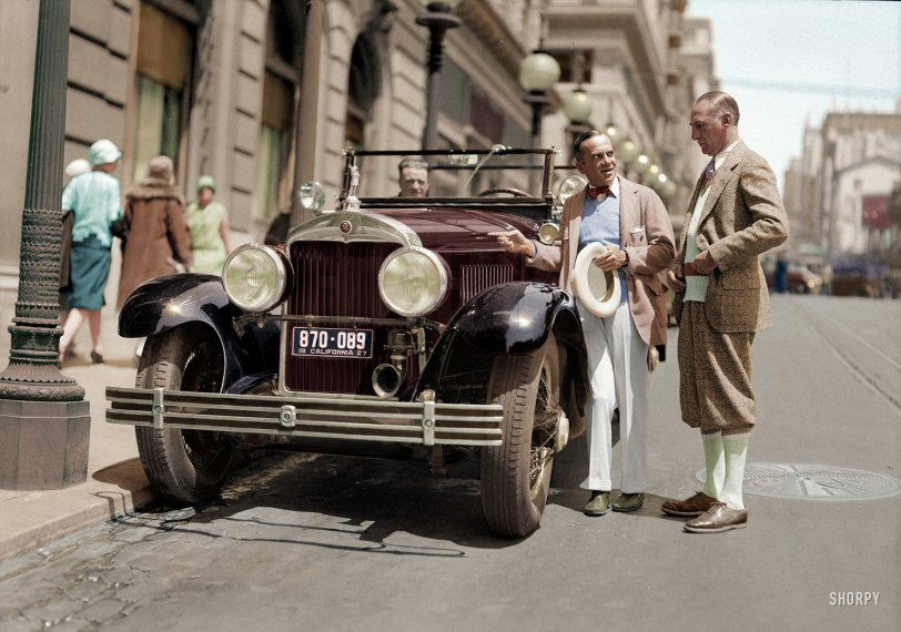 The Jazz Driver (Colorized): 1927