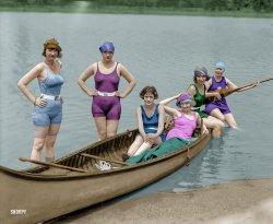 American Girl (Colorized): 1922