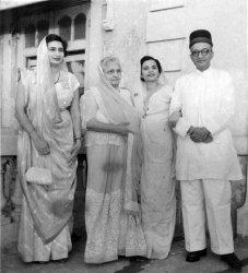 Parsi Family, Bombay: 1961