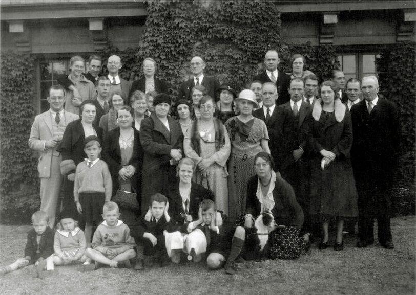 Family Reunion, circa 1930