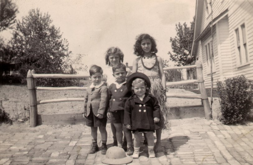 1944 Cousins on Henderson St.