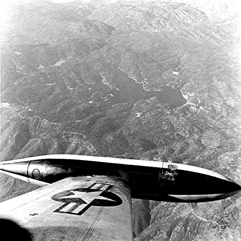 Over Lake Arrowhead: 1954