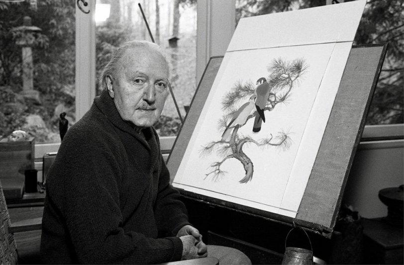 Athos Menaboni, Painter