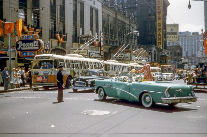 Clown Car: 1957