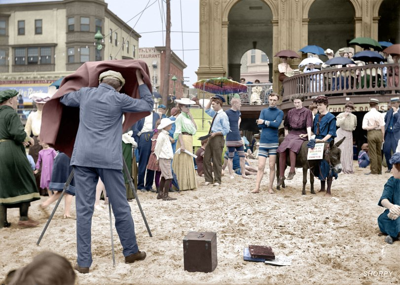 Atlantic City Forever (Colorized):1912