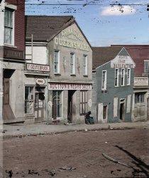 Auction & Negro Sales (Colorized): 1864