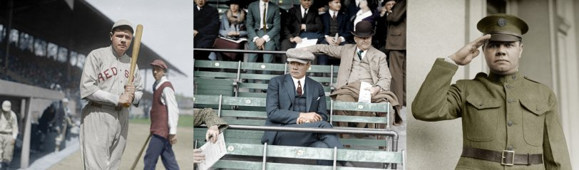 Babe Ruth (Colorized)