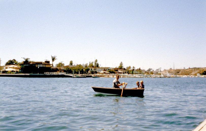 Balboa Yacht Club: 1958