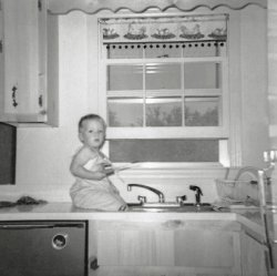 Bathtime For Baby: 1962