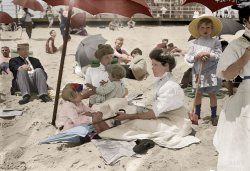 Jersey Hotties (Colorized): 1911