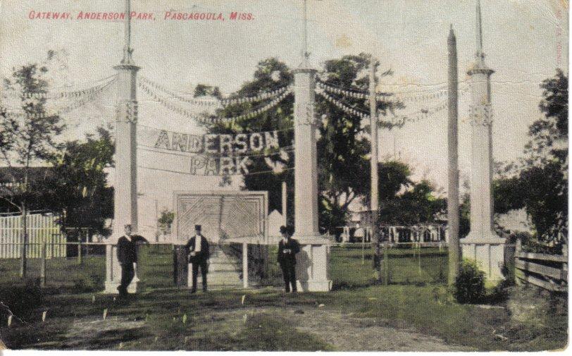 Anderson Park: Circa 1900