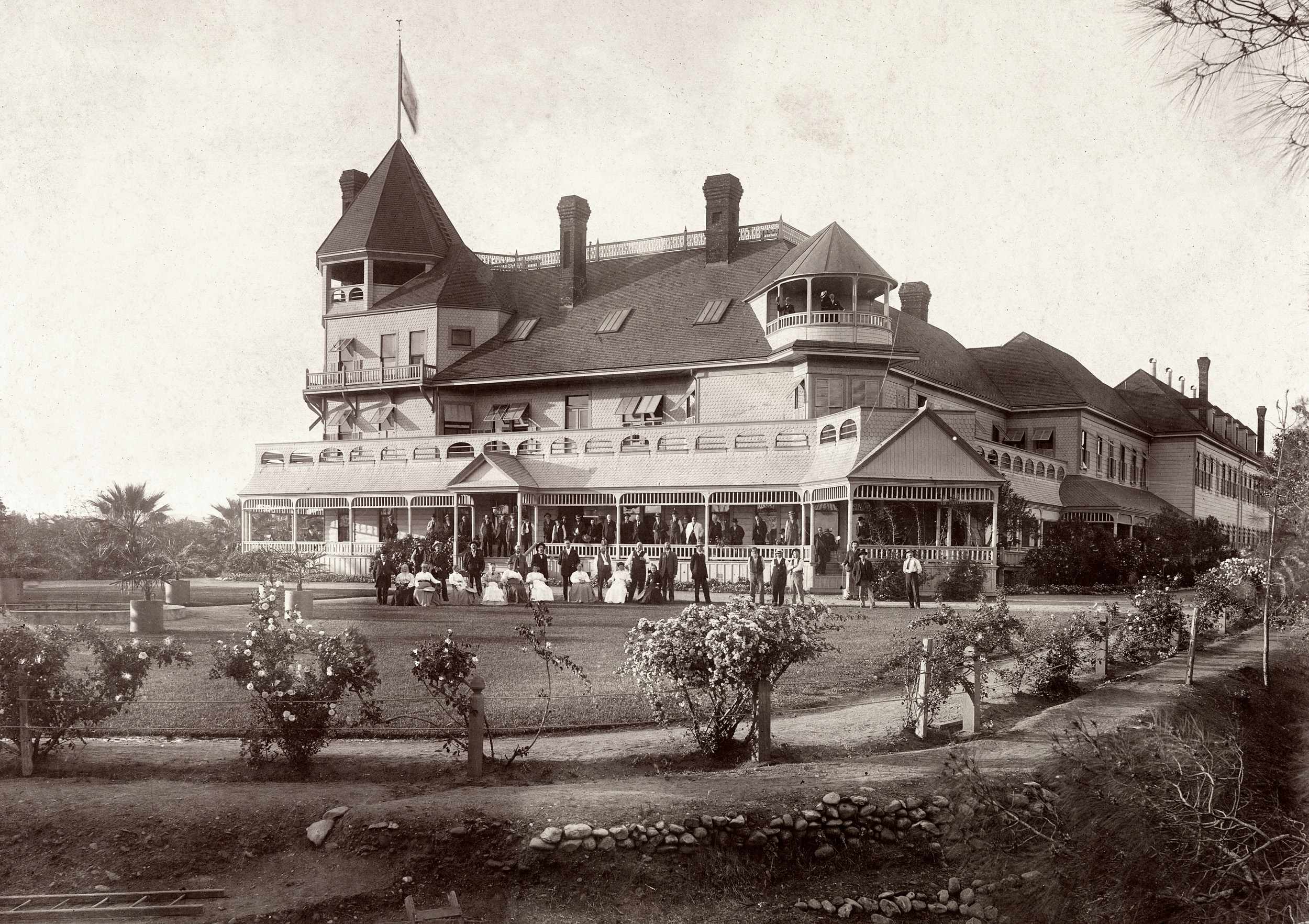 Shorpy Historic Picture Archive Odd Fellows Home 1895 High Resolution Photo