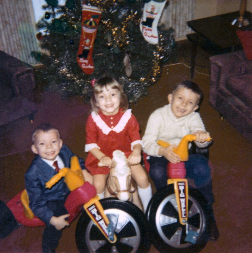 Dueling Big Wheels: 1968