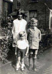 Sunday Best; suburban London, 1934