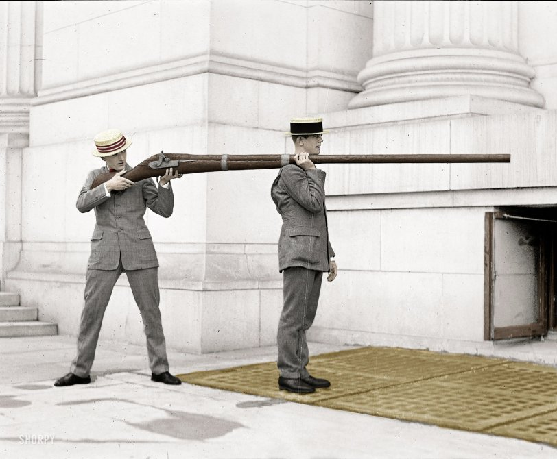 Big Gun (Colorized): 1923