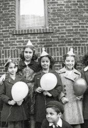 Girls vs Boy: about 1938