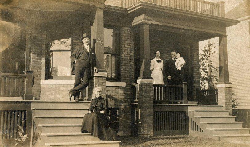 Elmer & Emma Wise: 1913