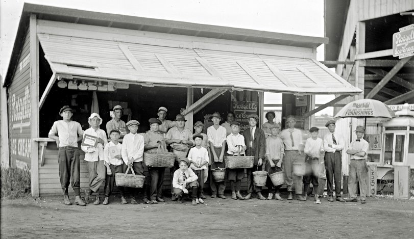 Lake View Park Concession Stand: 1916