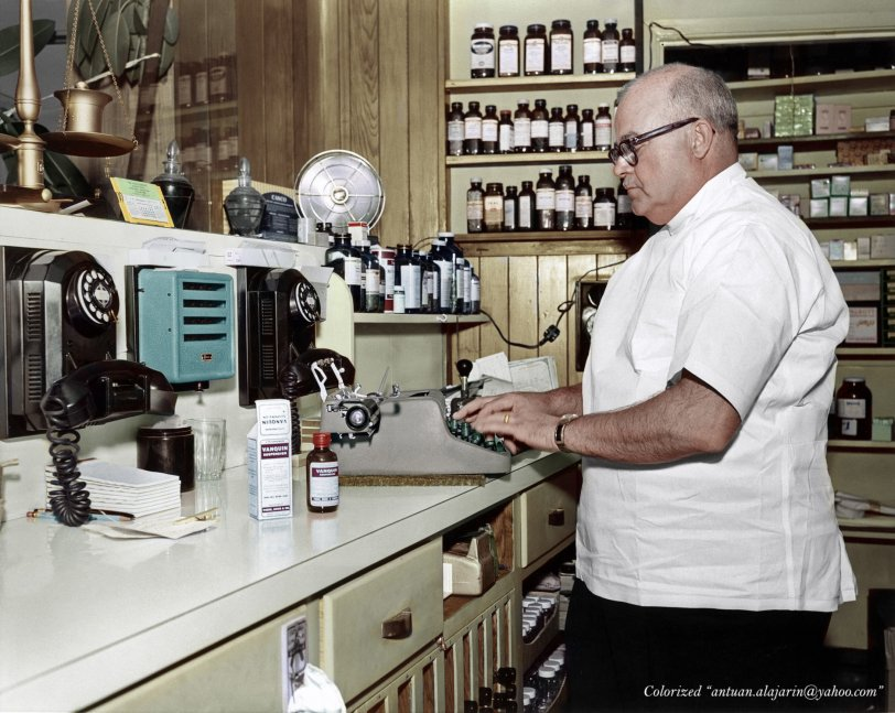 Broadway Pharmacist (Colorized) 1957