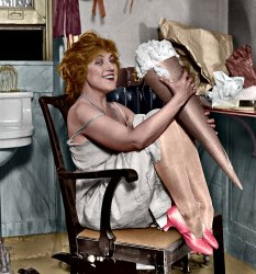 Olga Cook (Colorized): 1923