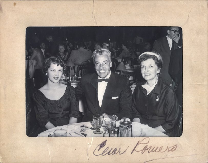 Brunch with Cesar: 1956