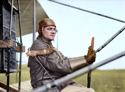 Ready for Takeoff  (Colorized): 1912