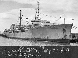 USS Morton: 1947