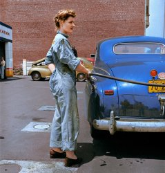 Career Girl (Colorized): 1943