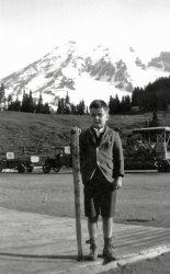 Carl Bangs Jr. at Mt. Rainier
