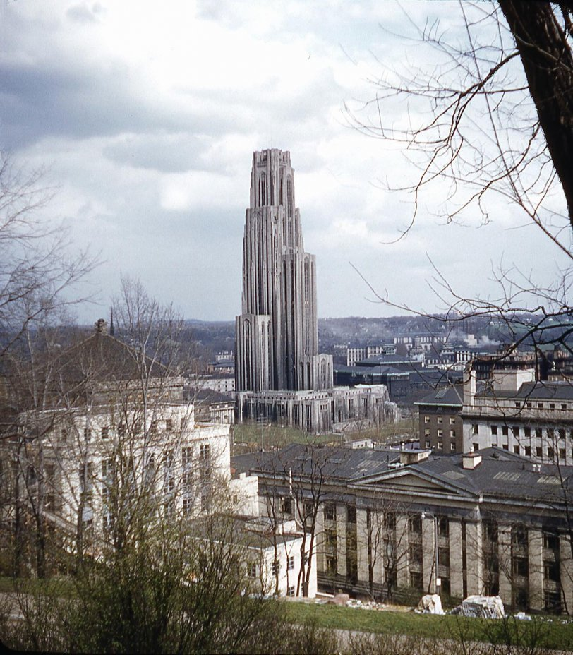 Cathedral of Learning: 1948
