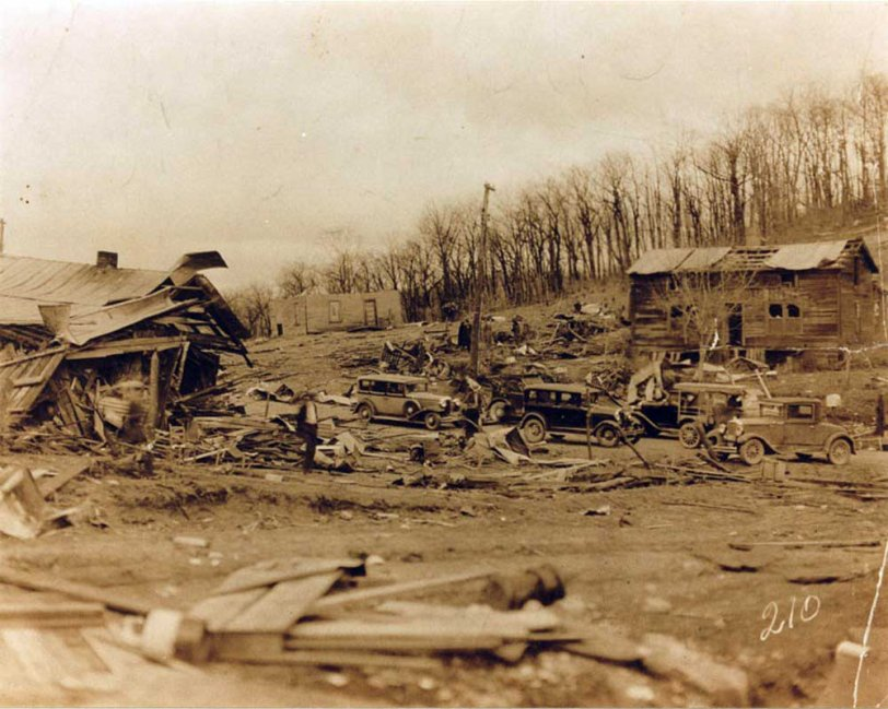 Tornado destruction II, 1933