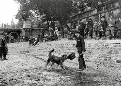 Parisian Street Performer: c.1920