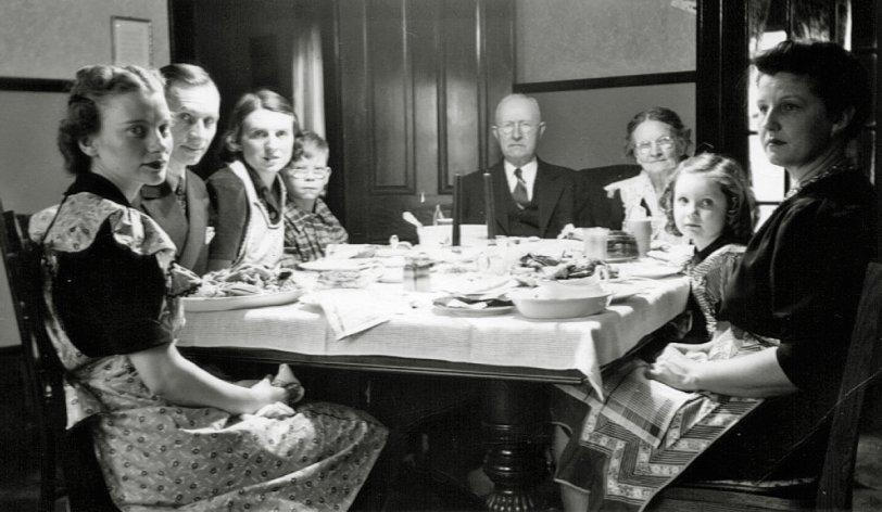 Christmas Dinner: c.1939
